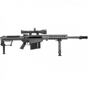 Barrett M107A1 w/Leupold Mark 4 M1 Scope & Rings