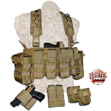 BDS Tactical Land Warfare Chest Rig