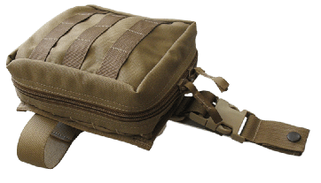 TacMed Solutions Drop Leg Pouch, Advanced