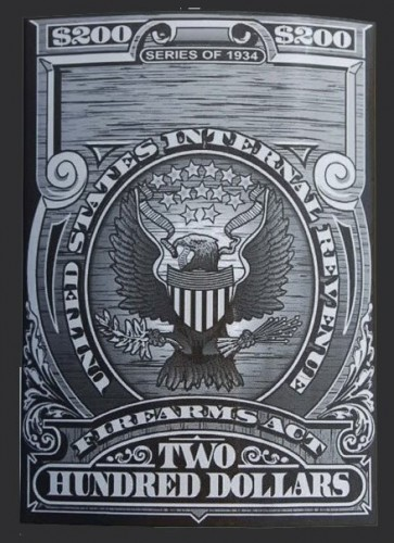NFA Tax Stamp