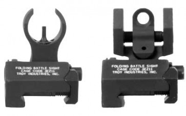 Troy Micro Battle Sight Set - Black