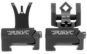 Troy Micro Battle Sight Set - Dioptic Aperture - Black