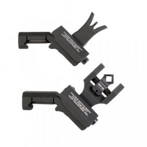 Troy 45° Offset Dioptic Sight Combo Set - Black