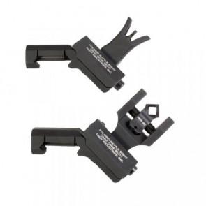 Troy 45° Offset Dioptic Sight Combo Set - Black