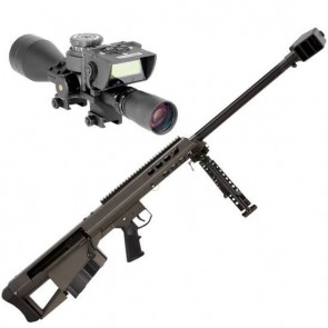 Barrett 95 50 BMG w/Leupold Mark 4 M1, Barret BORS