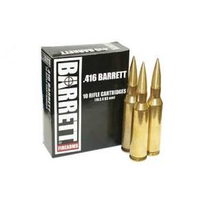 Barrett .416 395gr VLD Ammunition 10rd