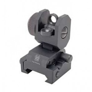 GG&G Spring Actuated Flip Up Rear Sight
