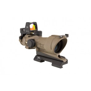 Trijicon ACOG 4x32 ECOS Scope Amber Crosshairs