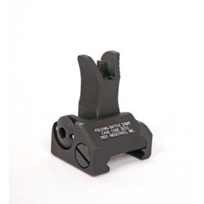 Troy M4 Style Folding Front Battle Sight - Black