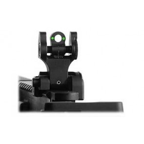 Troy Rear Folding Battle Sight w/ Tritium
