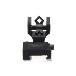 Troy Rear Folding BattleSight with Di-Optic Apertures - Black