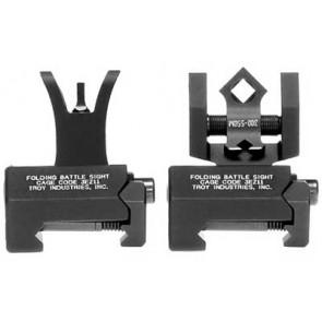 Troy Micro Battle Sight Set - Dioptic Aperture - Black