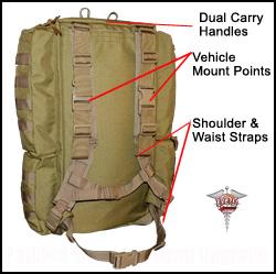 BDS Tactical Combat Medical Bag